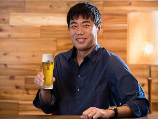 <プレミアム・インタビュー> 上原浩治 「いい仕事ができた後に飲むビールが最高のごほうび」