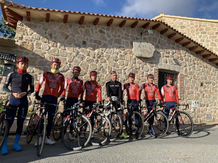 昨年10月、スペイン・バスク地方のレースに参戦©Utsunomiya Blitzen