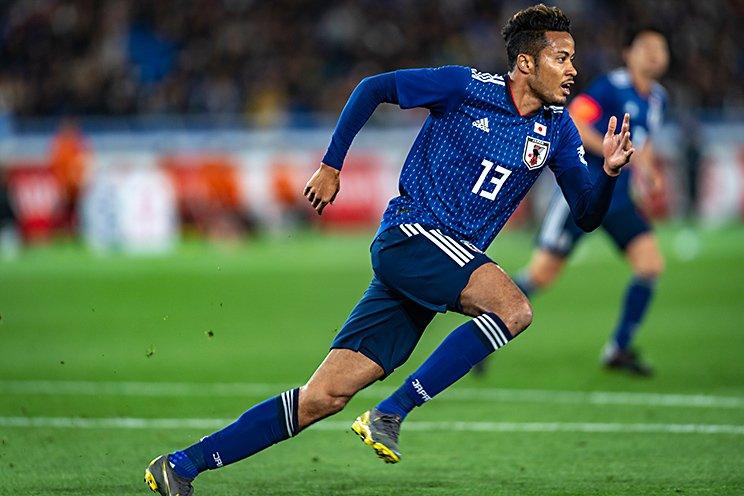 日本代表デビューが2019年3月のコロンビア戦。北海道コンサドーレ札幌での活躍が認められ、A代表のユニフォームに袖を通した (c)Takuya Sugiyama