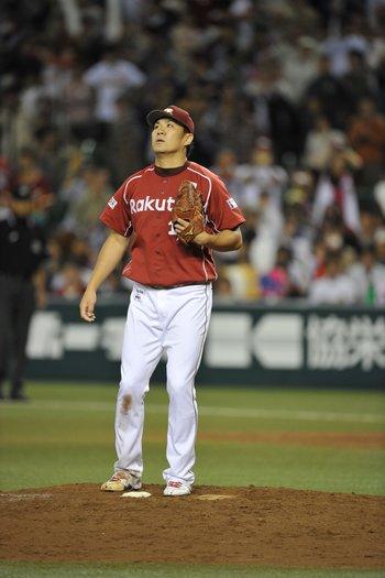 楽天時代の田中将大投手 ©Hideki Sugiyama
