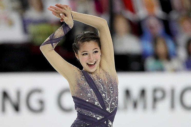 今年の全米選手権でのアリサ・リュウ (C)Getty Images