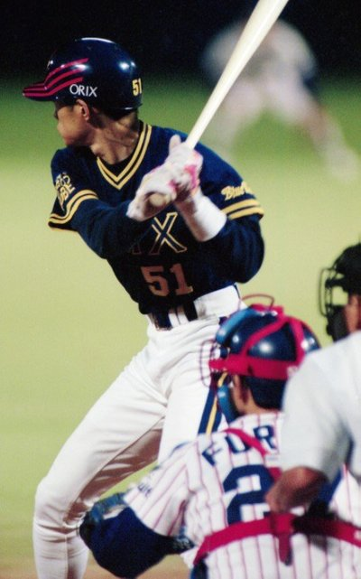 全93球の対決でイチローは19打数5安打の打率.263、本塁打1本。軍配は野村のヤクルトに上がった ©Koji Asakura