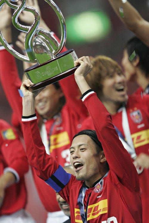 2007年、ACL優勝時の鈴木啓太©Takuya Sugiyama