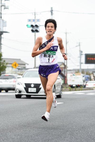 2014年11月2日全日本大学駅伝 ©Nanae Suzuki