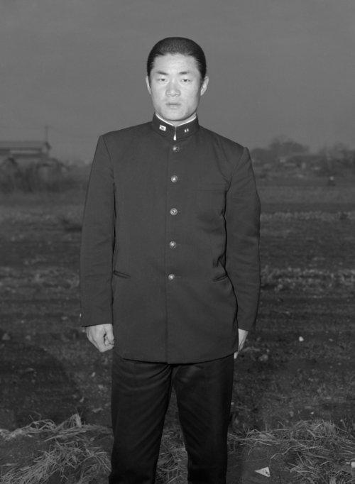 学生服を着ていたころの張本氏(1958年撮影) ©KYODO