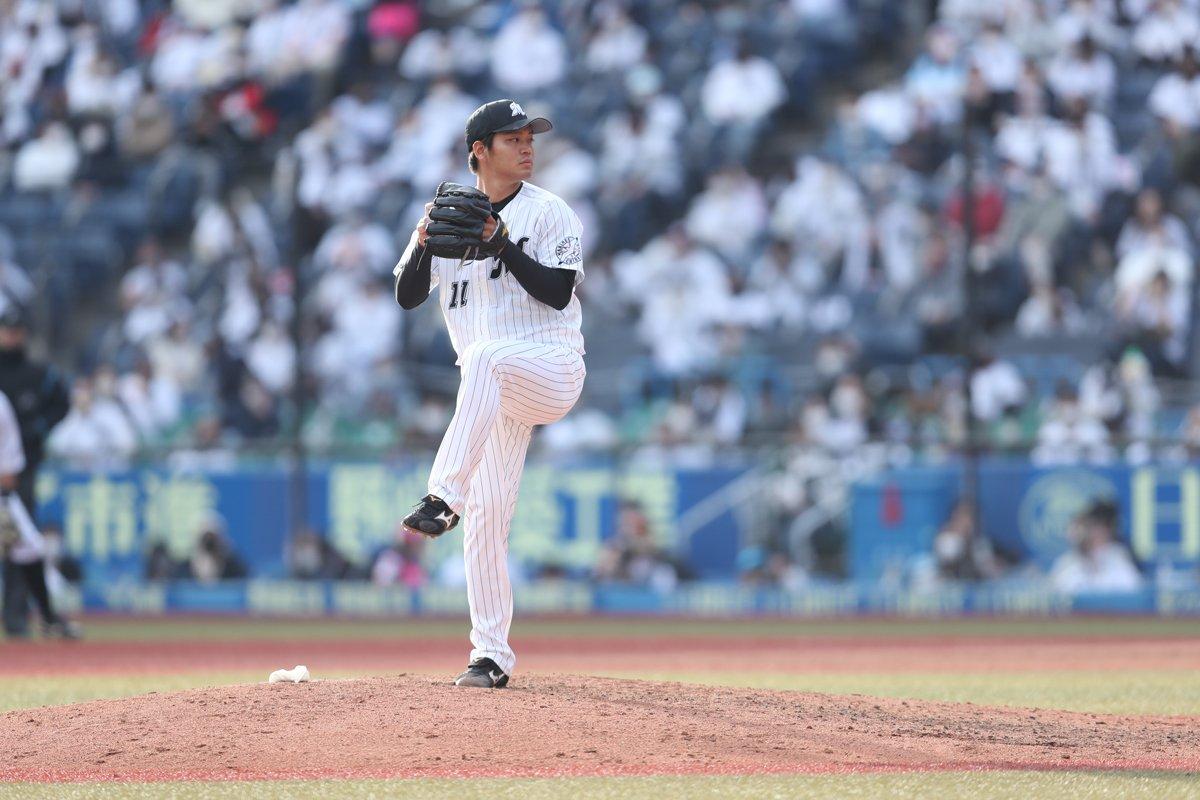 首脳陣からも全幅の信頼を置かれる佐々木千隼 ©Chiba Lotte Marines
