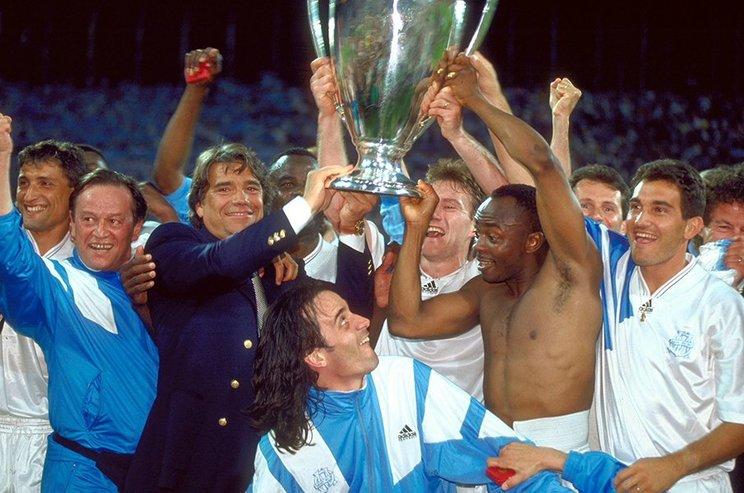 CL制覇を成し遂げたマルセイユだったが、その後凋落の一途をたどった©Getty Images