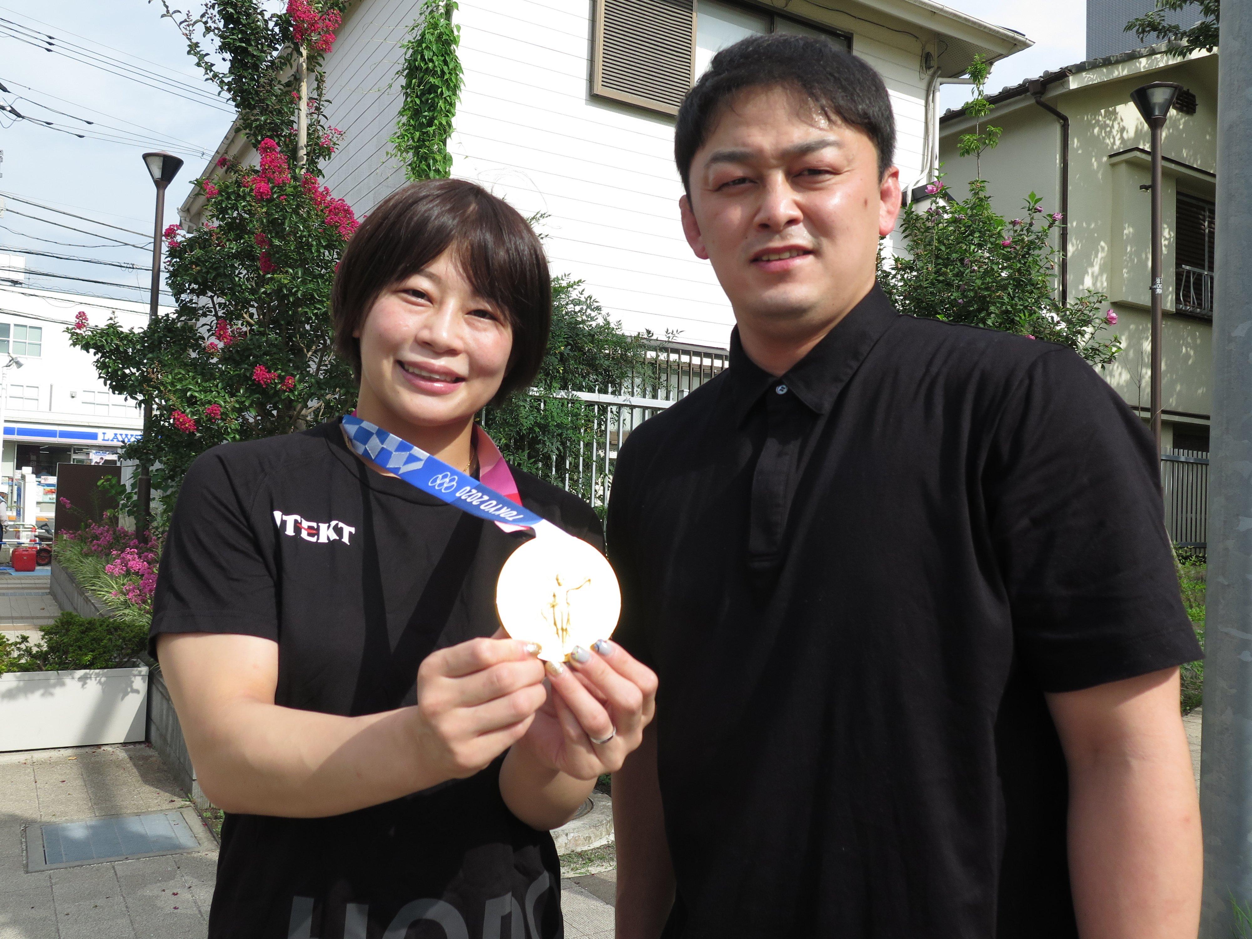 東京オリンピックを終え、結婚を発表した向田真優と志土地