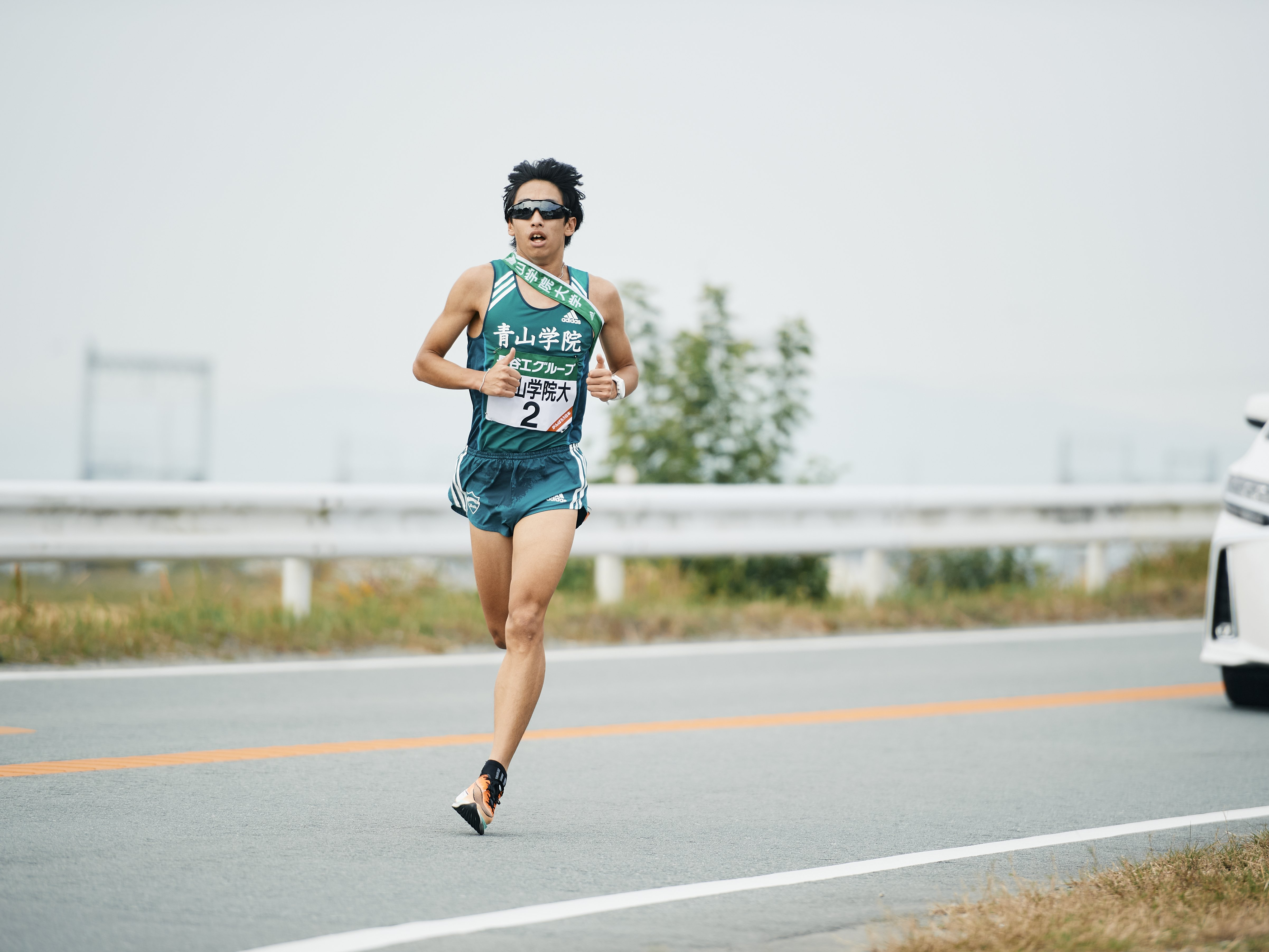今年の全日本大学駅伝でも7区区間賞と好走した神林勇太 (C)Yuki Suenaga
