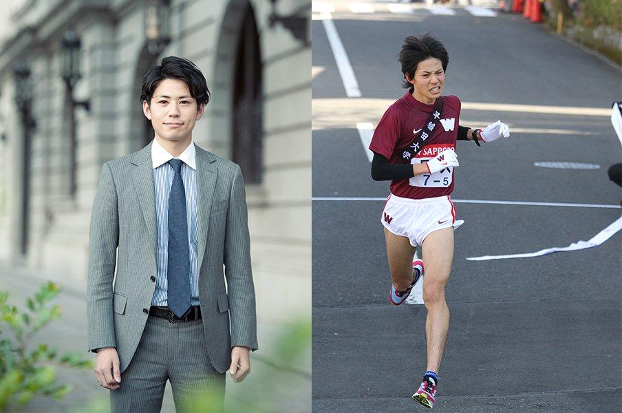 猪俣英希は商社の内定を勝ち取ったのち、箱根駅伝で柏原竜二と5区を争った (C)Mami Yamada/Shigeki Yamamoto