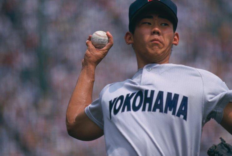 横浜高校時代の松坂大輔©BUNGEISHUNJU