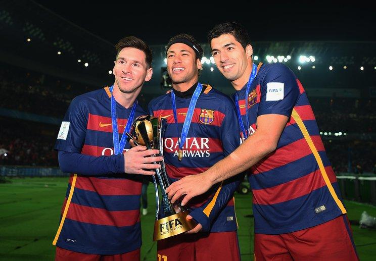 サッカー史に残る破壊力を誇った「MSNトリオ」©Getty Images