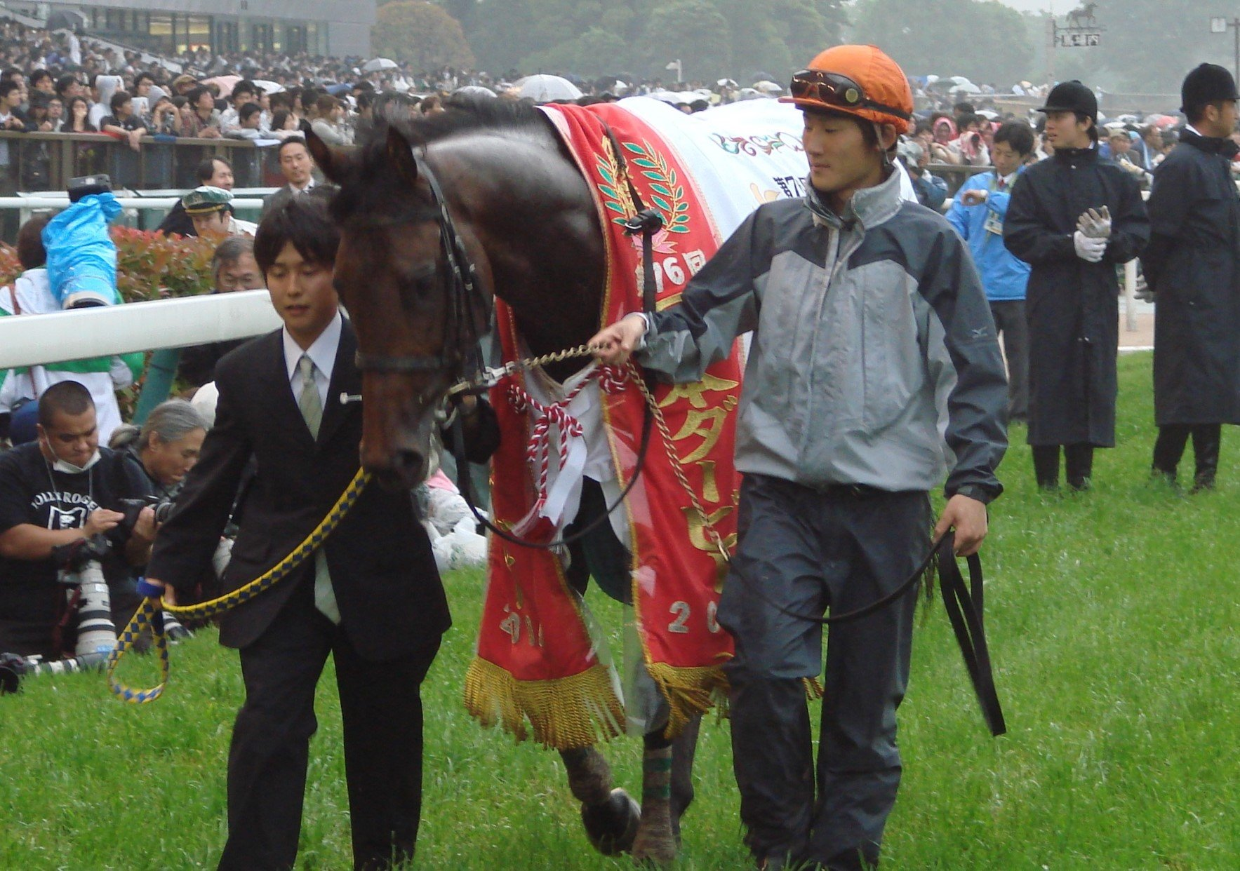 皐月賞からの復活を遂げ、ダービー馬となったロジユニヴァース