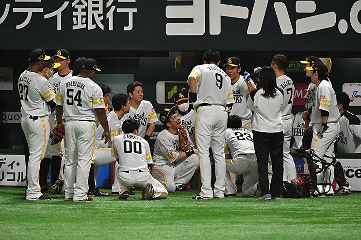 好打者が左右バランス良く並ぶソフトバンク打線 (c)Hideki Sugiyama