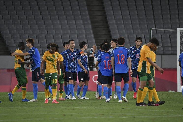 南アフリカ戦に勝利した日本©Asami Enomoto/JMPA