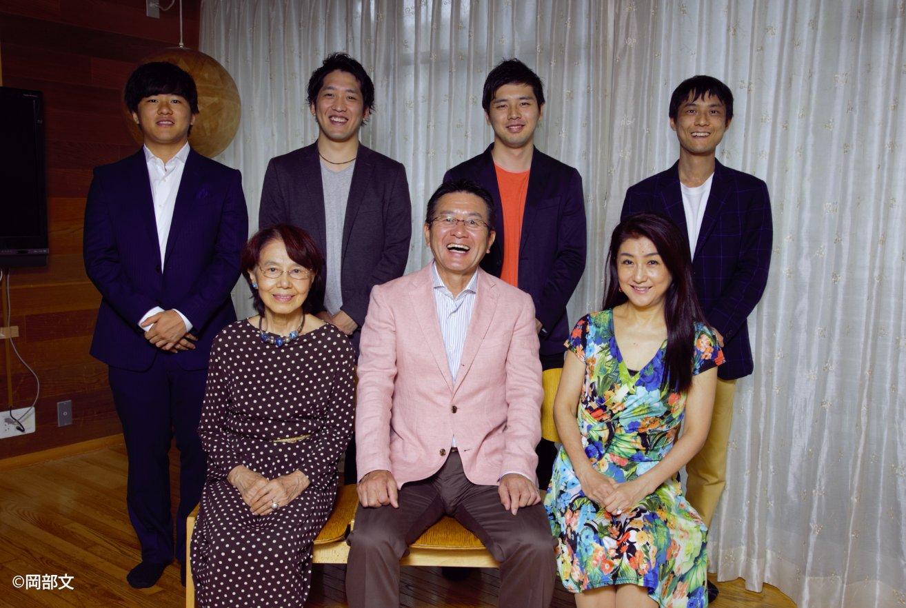 瀬古家の家族写真 昴さんは後方列右 ©Aya Okabe