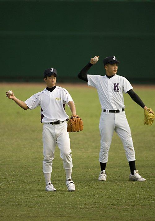 斎藤と田中の高校日本代表時代©Takuya Sugiyama