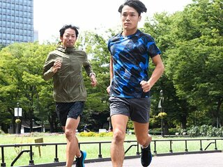 """<初マラソンで3時間30分をめざす> イケメン人力車夫の""""追い込む""""メニュー。"""