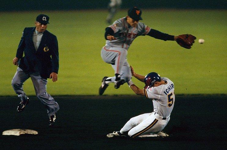 オリックス−巨人で行われた1996年の日本シリーズ©Hideki Sugiyama