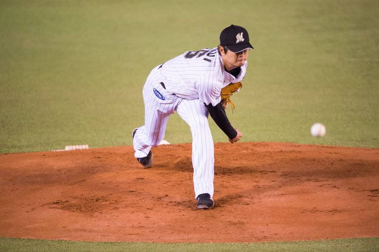 2016年開幕戦では大谷翔平相手に投げ勝った©Nanae Suzuki