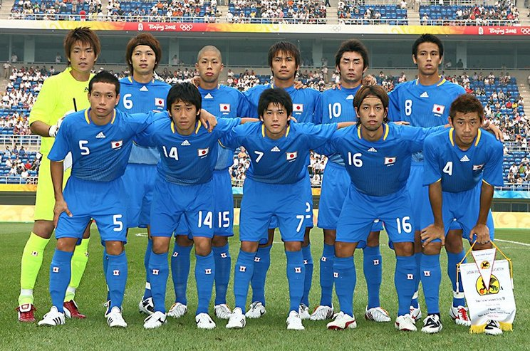 北京五輪の代表メンバー©JMPA