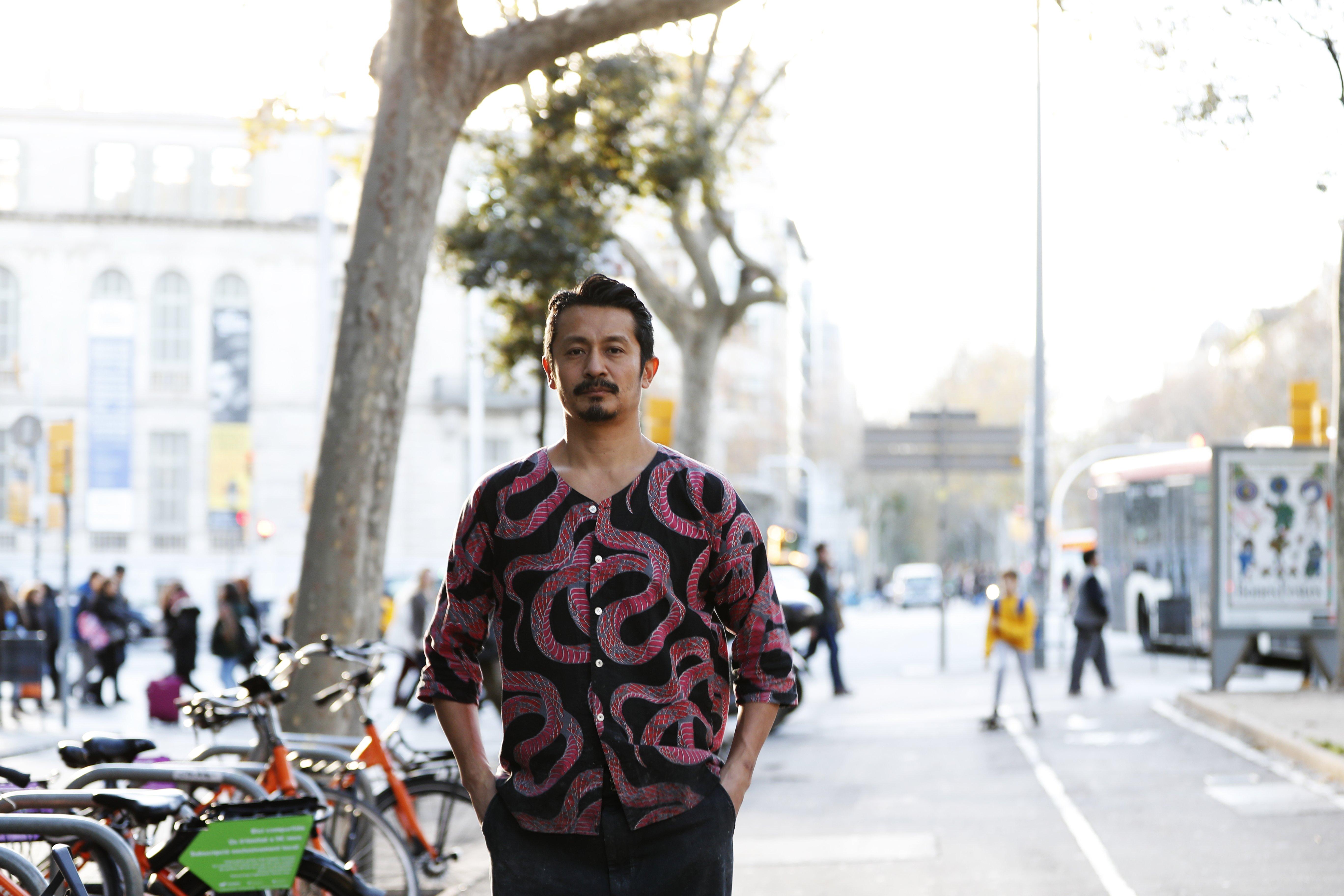 バルセロナの街で(撮影は2019年末) ©Daisuke Nakashima