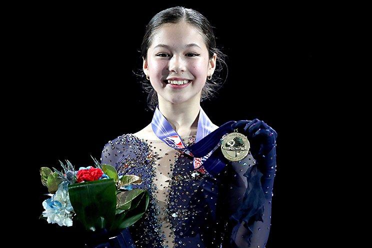 昨年の全米選手権でのアリサ・リュウ (C)Getty Images