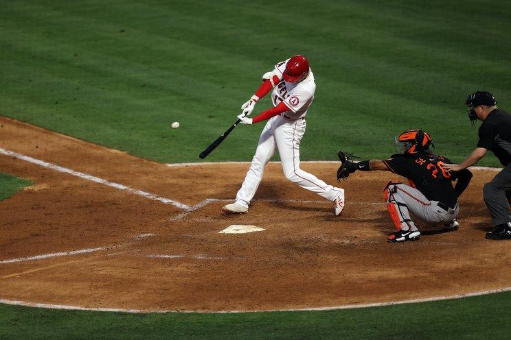 大谷の29号本塁打©Getty Images