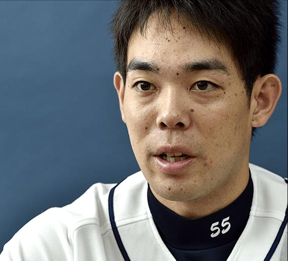 photo 「ヒットを打つのはもちろんだけど、四球で出塁することも1番打者の大事な... 秋山翔